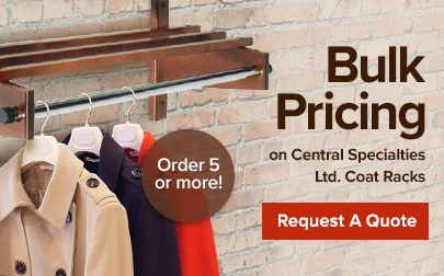 Request a quote for CSL Coat Racks