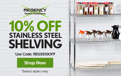 Shop Regency Shelving