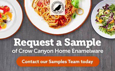 Request a Sample – Crow Canyon Home Enamelware