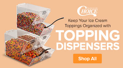 Shop Choice Ice Cream Topping Dispensers
