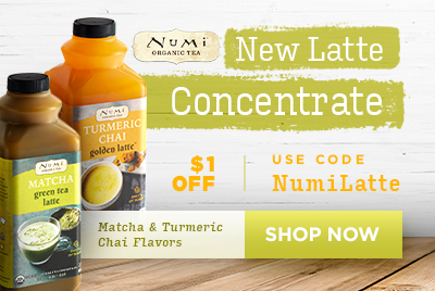 NEW Numi Organic Latte Concentrates - Use code Numilatte for $1 Off