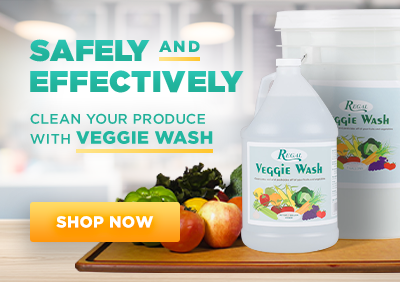 Safely and Effectively Clean Your Produce with Veggie Wash