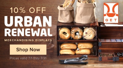 10% Off GET Urban Renewal Displays