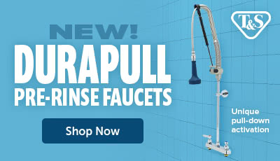 New Durapull Pre-Rinse Faucets