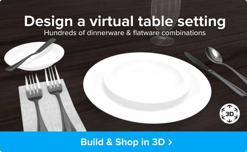 Design a virtual table setting - Build and Shop in 3D