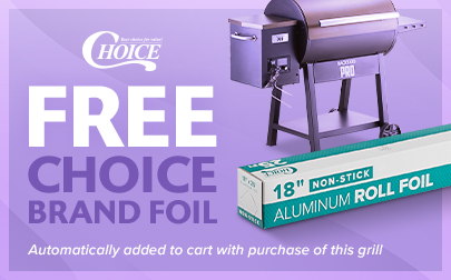 Shop FREE Foil with BYP Grill