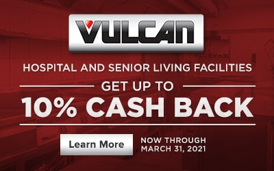 Vulcan Healthcare Cash Back Rebate