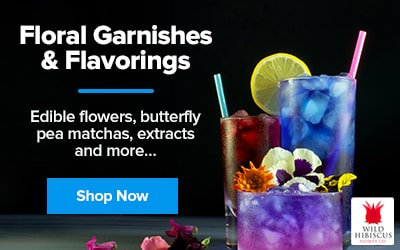Floral Garnishes and Flavorings