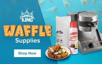 Shop Waffle and Waffle Cone Supplies