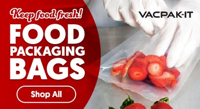 VacPak-It Vacuum Packaging Machine Bags