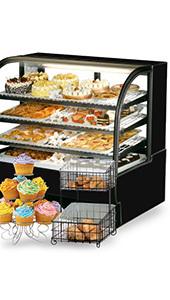 Bakery Cases, Displays, and Storage Bins