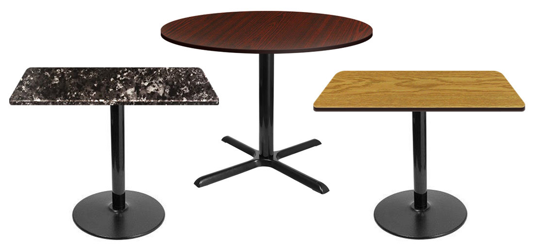 Restaurant furniture supply restaurant chairs and tables for Restaurant table menu