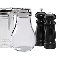 Condiment Holders, Pourers, and Shakers