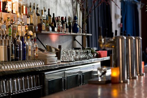 Bar- If your restaurant plans to serve alcohol make sure your bar is as inviting as your main dining area. It should feel welcoming and be functional ... & Front of House vs. Back of House