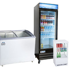Refrigerated / Grab and Go Merchandisers