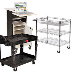 Educational, Office, and Industrial Carts