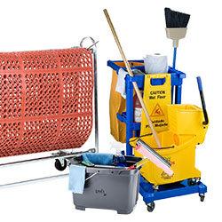 Janitorial and Maintenance Carts