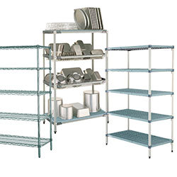 Metro Wire, Solid, and MetroMax Shelving