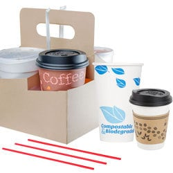 Coffee Shop Supplies: Coffee Equipment, Flavoring Syrups