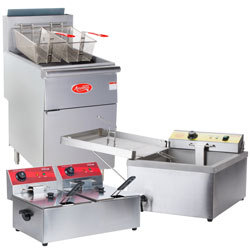 Commercial Fryers and Oil Filtration