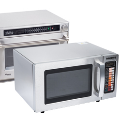 Microwave oven compact size