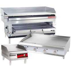 Commercial Grills: Flat Tops, Charbroilers, & More