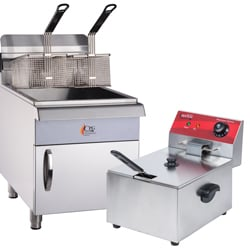 Food Truck Deep Fryers