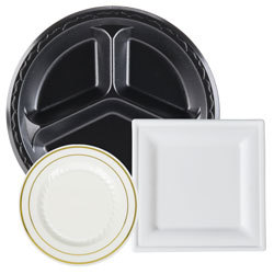 Disposable Dinnerware and Tableware  sc 1 st  WebstaurantStore & Disposable Tableware u0026 Disposable Dinnerware