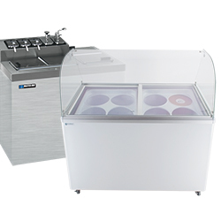 Ice Cream and Gelato Dipping Cabinets