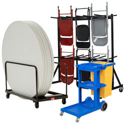 Janitorial, Maintenance, and Industrial Carts