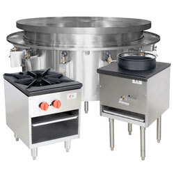 Beau Great Portable Gas Ranges. Stock Pot, Wok, And Mongolian BBQ Ranges