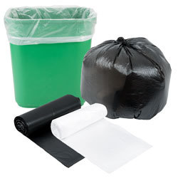 High Density Trash Can Liners / Garbage Bags