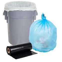 Low Density Trash Can Liners / Garbage Bags