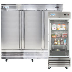 Commercial Refrigerators Freezers Reach In And