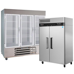 Combination Reach In Refrigerators And Freezers