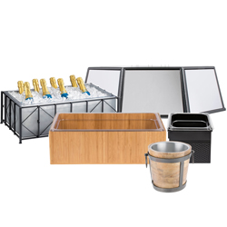 Beverage Tubs, Buckets, and Pails