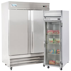refrigerator and freezer. reach-in freezers refrigerator and freezer
