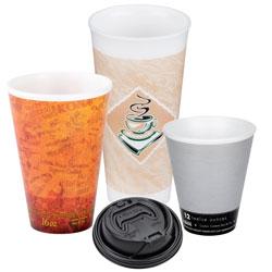Foam Cups and Lids