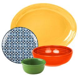 Colorful China Dinnerware