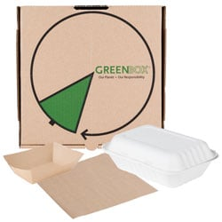Eco-Friendly Take-Out Containers and Food Wrap