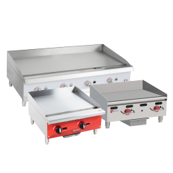 Gas Flat Top Grills and Griddles