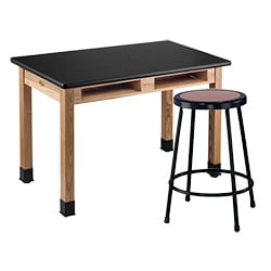 Science Lab Tables and Chairs