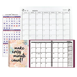 Calendars, Planners, and Personal Organizers