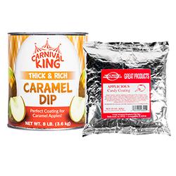 Caramel Candy Apple Supplies