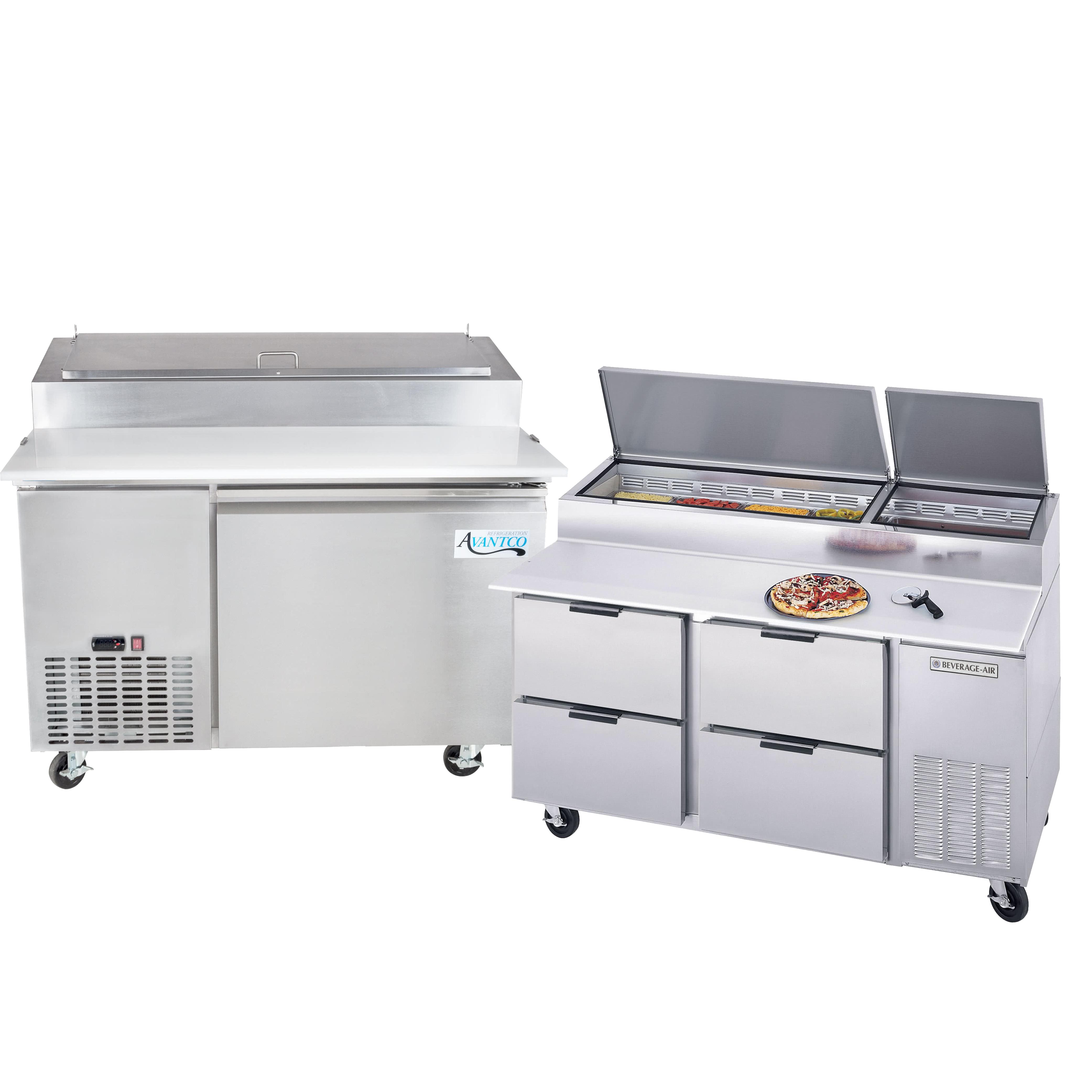 Prep Tables Refrigerated Prep Tables Prep Refrigeration - Cold prep table for sale