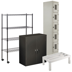 Industrial Shelving and Storage