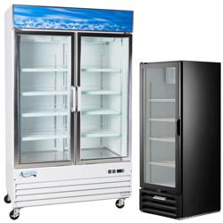 Merchandising Reach-In Freezers