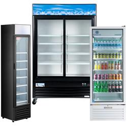 Merchandising Reach-In Refrigerators