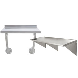 Stainless Steel Prep Tables | Kitchen Work Tables