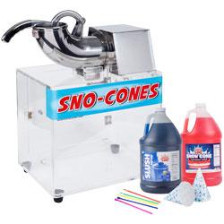 Snow Cone Supplies
